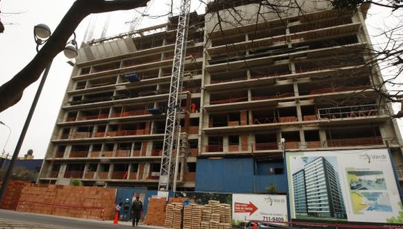 A PASO LENTO. La construcción no crecería a dos dígitos en los próximos meses, según ente monetario. (USI)