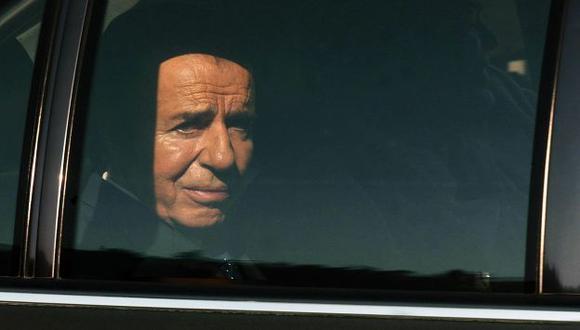 BLINDADO. Menem tiene inmunidad como senador. Podría cumplir la condena en arresto domiciliario. (AFP)
