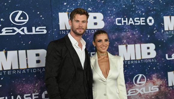 Chris Hemsworth cumplió el 11 de agosto 37 años y la pasó rodeado de su familia.(Foto de Angela Weiss / AFP)