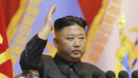 """Kim Jong-Un tras rechazar donación de vacunas: """"Combatiremos la pandemia a nuestro estilo"""". (AP)"""