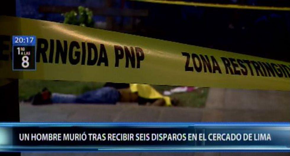 Robin Ulises Gil Arteaga (28) fue atacado, pasadas las 3 de la madrugada, por dos sujetos, quienes lo habrían estado siguiendo. (Foto: Canal N)