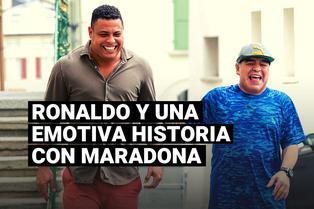 Diego Maradona: Ronaldo Nazario contó una emotiva historia que vivió con el argentino