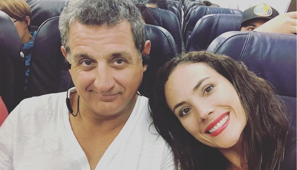 Connie Chaparro y Sergio Galliani celebran un año más de casados (Foto:@sergiogallianich/@connie_chaparro)