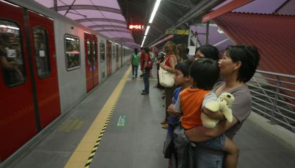 MENOS CAOS. Actualmente circulan 225 líneas de buses y combis en la ruta del Metro de Lima. (Perú21)