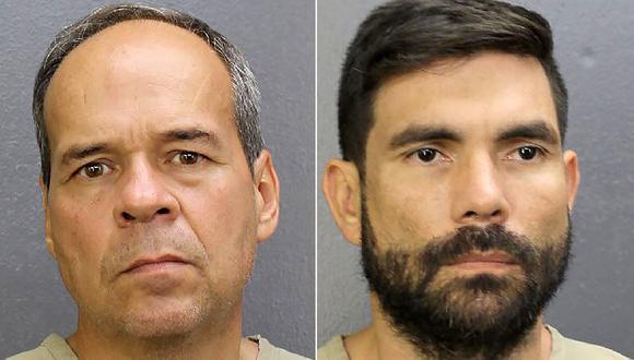Victor Fossi Grieco y Jean Carlos Sanchez Rojas fueron arrestados por el Servicio de Alguaciles de EE.UU. por lavado de dinero y transporte de lingotes de oro. (Foto: AFP)