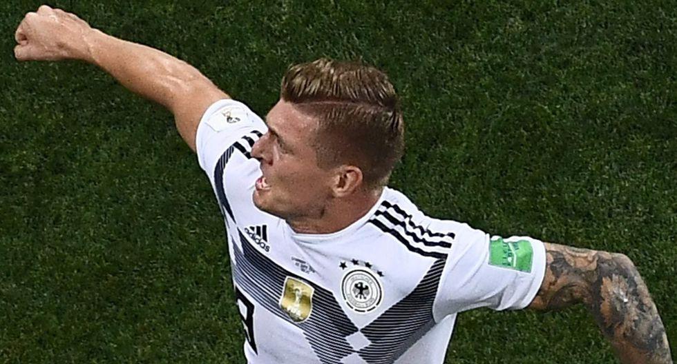 Toni Kroos elegido el mejor jugador alemán por la revista Kicker (AFP)