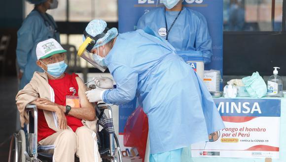 El proceso de vacunación avanza en todo el país. (Foto: Minsa)