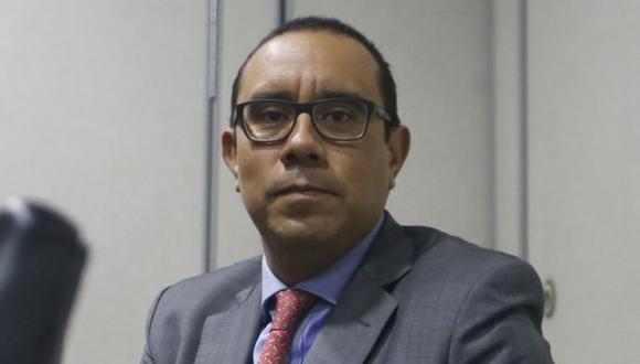 """Abogado de El Comercio: """"No existe una concentración de medios"""". (Mario Zapata/Perú21)"""