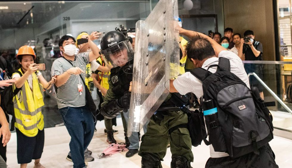 Violentas protestas se han vivido en el último mes en Hong Kong. (Foto: AFP)