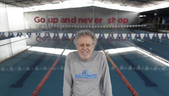Johnny Bello, exfinalista olímpico. (Foto: César Campos)