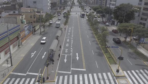 Proponen la avenida Brasil como ciclovía temporal para evitar contagios de COVID-19. (GEC)