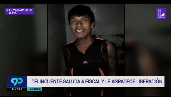 Los ciudadanos de Tumbes están indignados. (Foto: Captura/Latina)