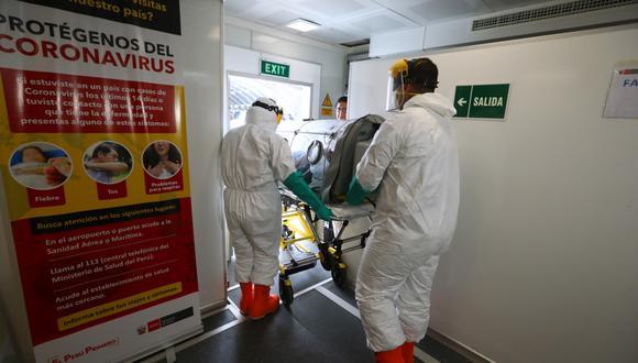 Coronavirus en Perú: Se confirma el tercer paciente muerto por COVID-19. (Foto: GEC)