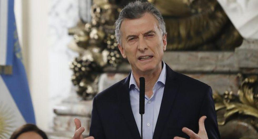 La imputación contra el mandatario Mauricio Macri elevó hoy el desconcierto social con la situación económica y el futuro del país. (Foto: EFE)