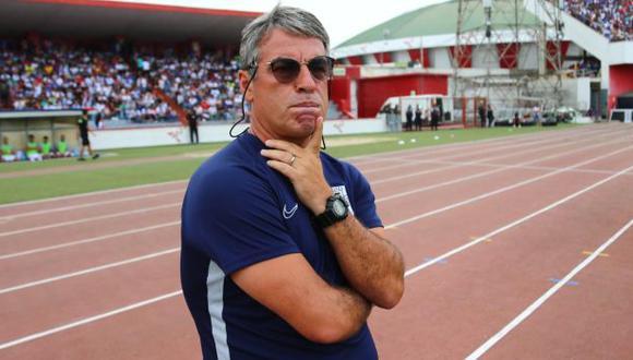 Pablo Bengoechea se refirió al caso de Carlos Ascues y Jean Deza. (Foto: Hugo Curotto / GEC)