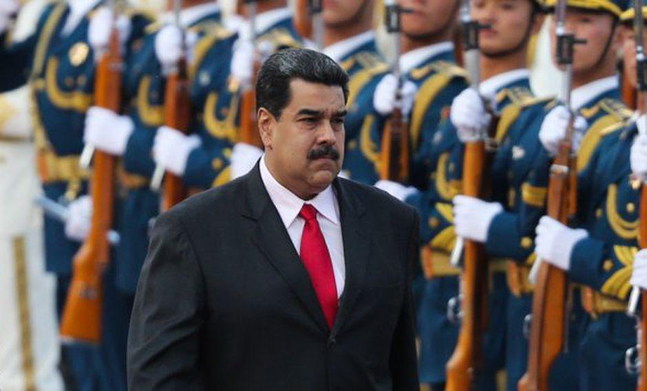 """Maduro ratificó """"todo el apoyo para promocionar y proteger de manera especial las inversiones chinas"""" en Venezuela. (Foto: EFE)"""