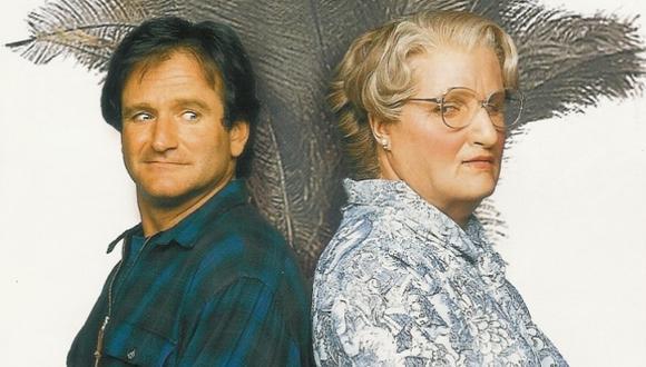 Mrs. Doubtfire y Robin Williams vuelven a la pantalla grande . (Internet)
