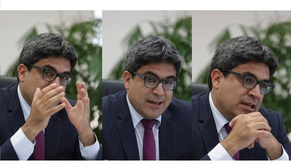 El ministro de Educación, Martín Benavides, deberá responder un pliego de 33 preguntas. (Fotos: Anthony Niño de Guzmán)