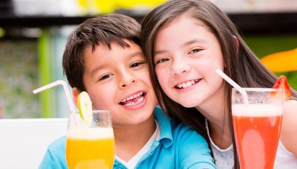 PURA VIDA. Los jugos son necesarios para los niños. (USI)