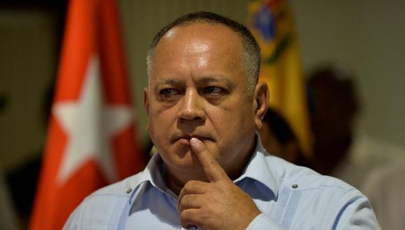"""Diosdado Cabello indicó que esta es una forma de """"silenciar"""" a los chavistas en las redes sociales. (Foto:  YAMIL LAGE / AFP)"""
