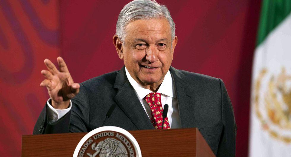 """Andrés Manuel López Obrador aseguró que en la reunión con su homólogo estadounidense, Donald Trump, del próximo 8 de julio en Washington representará a los mexicanos """"con decoro y con mucha dignidad"""". (AFP/Presidencia de México)."""