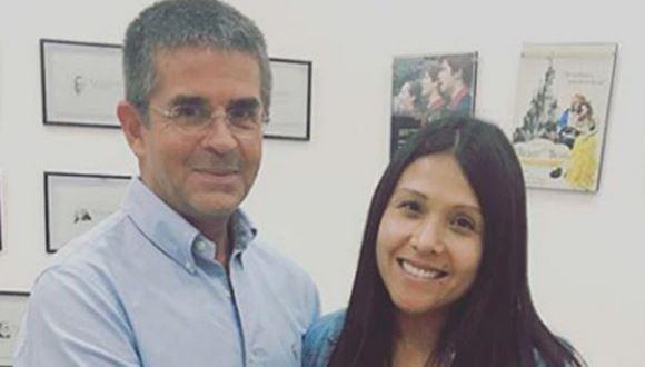 La conductora de televisión recordó al padre de su hija, quien hace más de un año se encuentra internado. (Instagram)