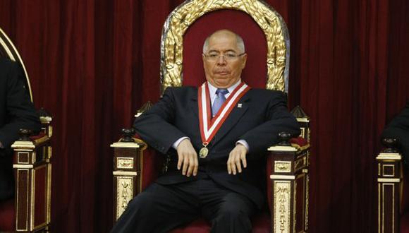 MAL PARADO. La posición institucional de San Martín le sirvió de base a Vitery para intervenir. (Luis Gonzáles)