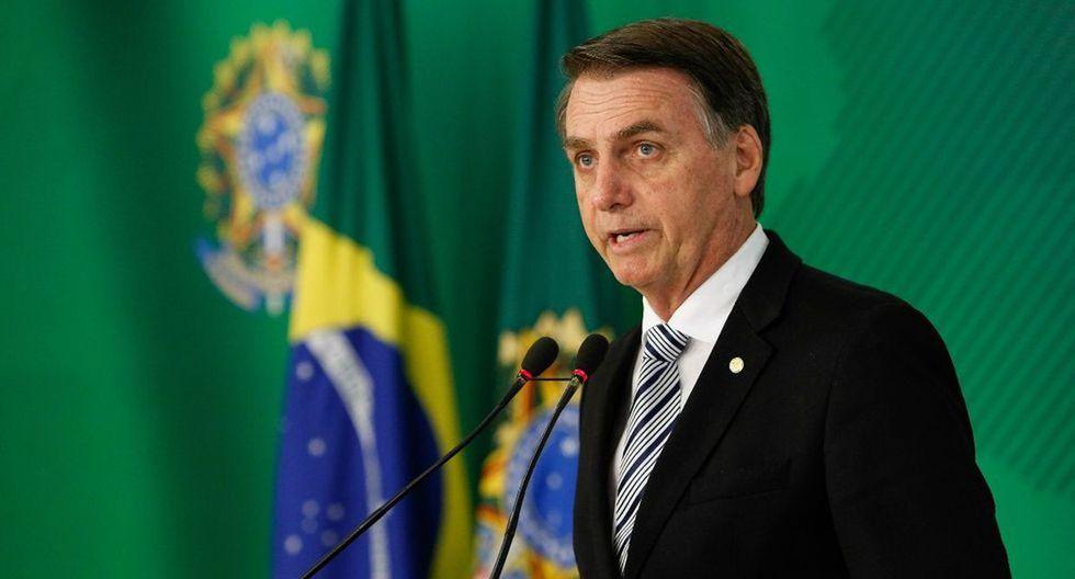 Jair Bolsonaro comunica que no tiene cáncer de piel tras los resultados de biopsia. (AFP)