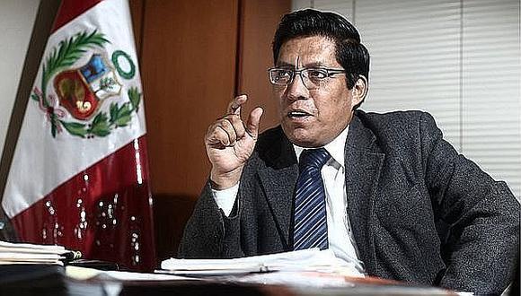 Vicente Zeballos pide que Edmer Trujillo dé explicaciones por su estar implicado en el caso del hospital de Mopquegua (Foto: GEC)