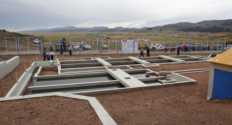 La obra beneficiará a las localidades de Coata, Sucasco y Almozanche, en Puno. (Foto: MVCS)