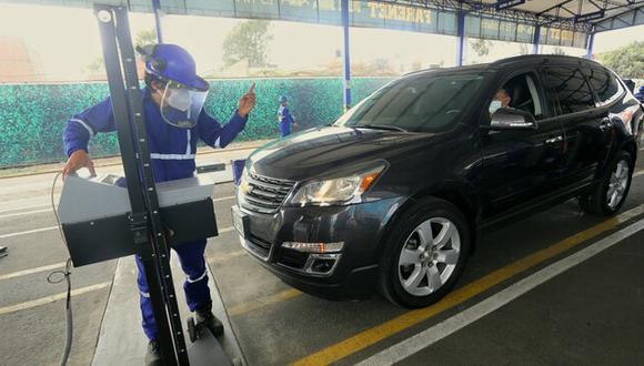 La unidad debe ser evaluado únicamente en un Centro de Inspección Técnica Vehicular. (Foto: Ministerio de Transportes y Comunicaciones)