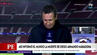 Prensa internacional llora la muerte de Diego Maradona