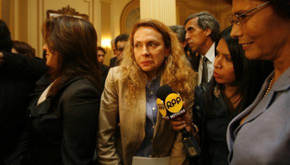 A diferencia de su madre, Karp sí asistirá a Fiscalización, donde la esperan para que aclare su participación. (Nancy Dueñas)