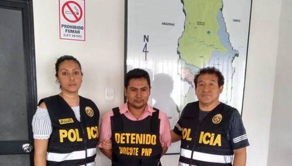 Capturan a integrante del Frente de Guerra Nororiental requisitoriado por terrorismo. (PNP)