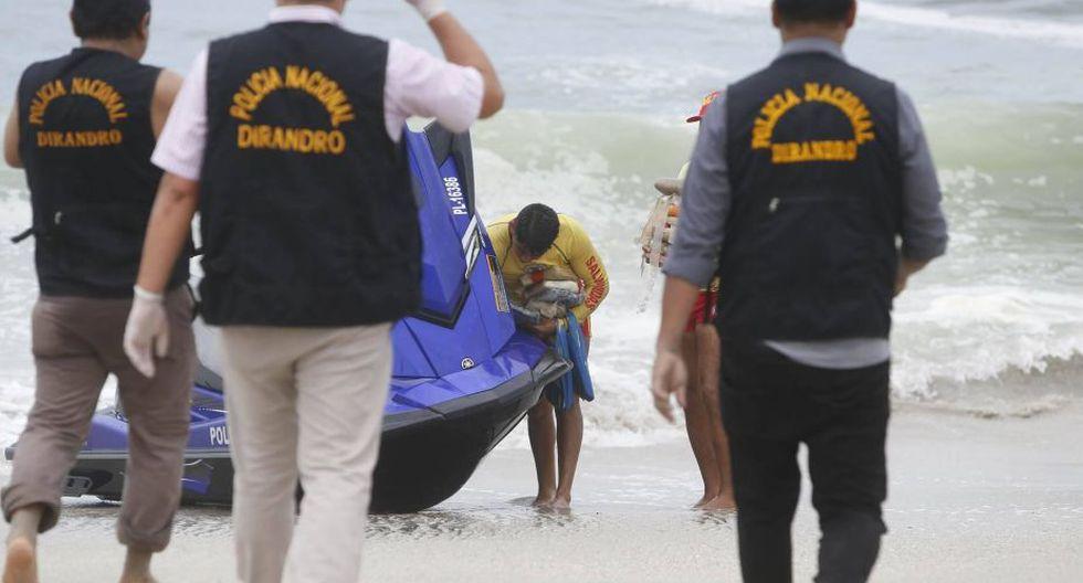 Policía Nacional halló gran cantidad de droga y dos sospechosos quedaron detenidos. (Perú21/Mario Zapata)