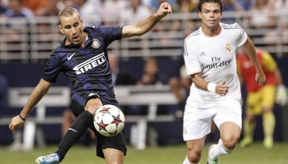 Palacio marcó su gol 25 con Inter.