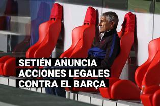 FC Barcelona: Quique Setién anuncia que tomará acciones legales contra el club