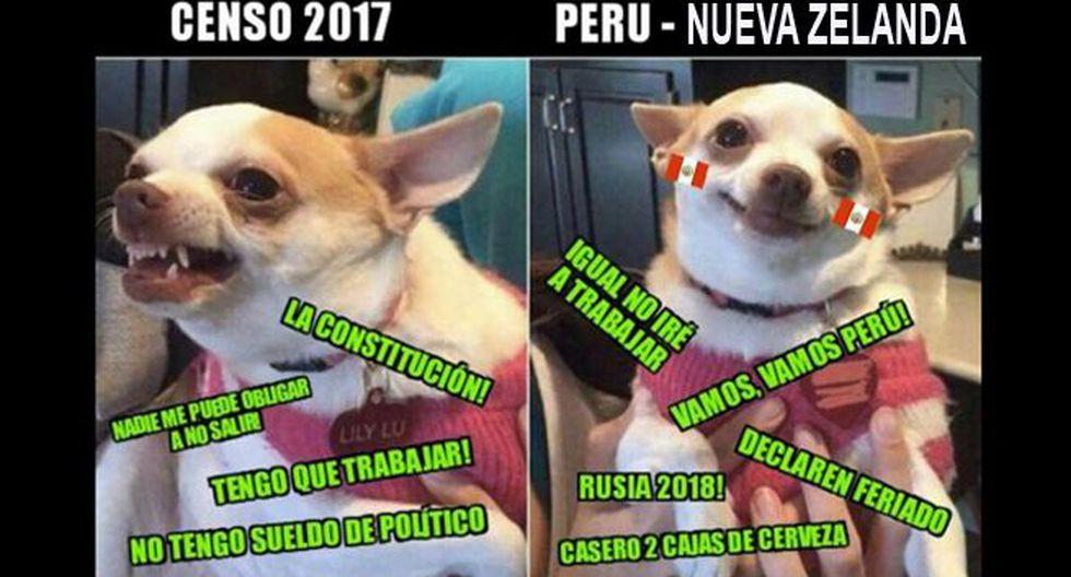 Estos son los divertidos memes sobre el Censo 2017. (Facebook)