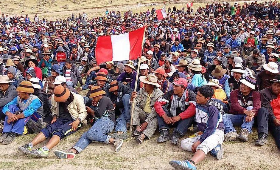 Abogado de MMG Las Bambas indica que en total presentaron 45 denuncias contra comuneros (Difusión)