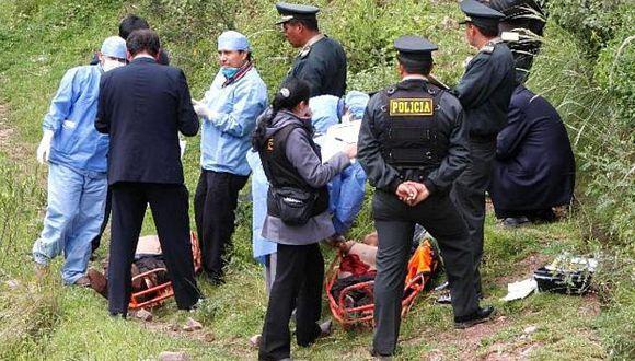 Esposa de candidato municipal y su chofer murieron en accidente en Moquegua. (Andina)