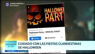 COVID-19: Advierten sobre el peligro de las fiestas clandestinas en Halloween
