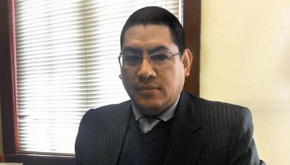 El fiscal Reynado Abia resaltó que la declaración de Rosa María Venegas es de carácter reservado. (Foto: GEC)