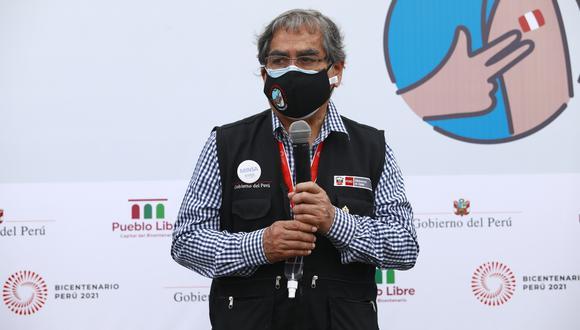 Óscar Ugarte señaló que se requiere de colaboración internacional para superar la pandemia. (Foto: Archivo GEC)