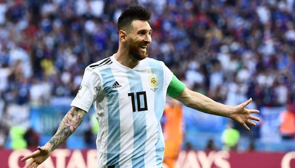 Lionel Messi cerca de vestir nuevamente la camiseta de la selección de Argentina. (Foto: AFP)
