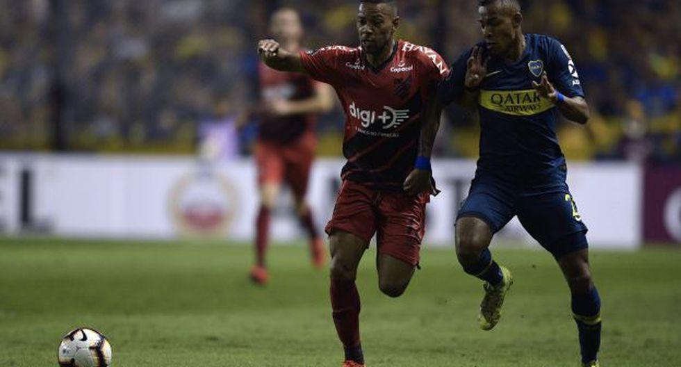 Boca Juniors vs. Atlético Paranaense: chocan por octavos de final de la Copa Libertadores. (Foto: AFP)