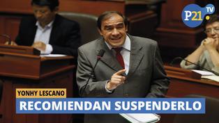Recomiendan suspender por 120 días a Yonhy Lescano