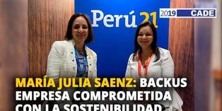 María Julia Saenz: Backus empresa comprometida con la sostenibilidad [VIDEO]