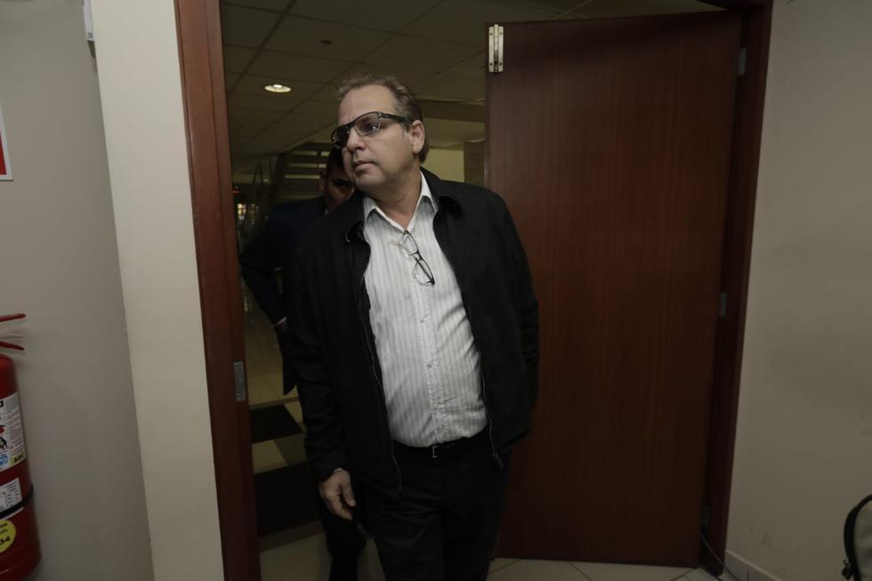 José Nava Mendiola llegó a la audiencia más de una hora después de haberse iniciado. (Anthony Niño De Guzmán/GEC)