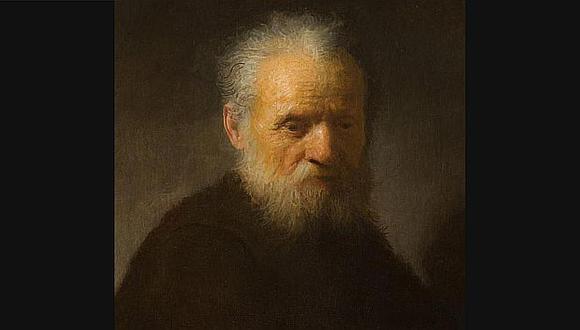 La obra de Rembrandt \'Retrato de un anciano con barba\'. (El País)