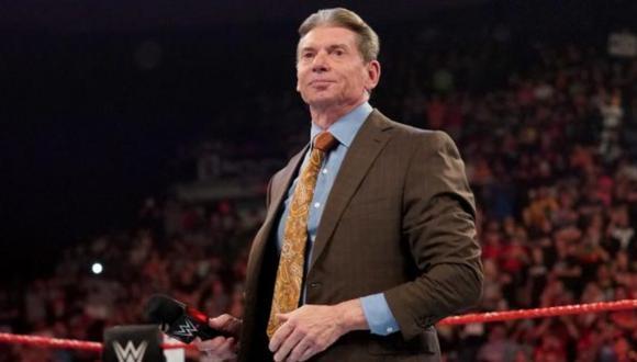Vince McMahon es el dueño de la WWE. (Foto: WWE)